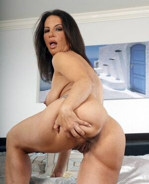 milf bent over pussy