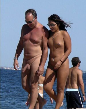 mature nudist erection