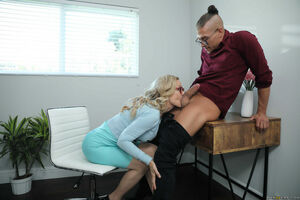 big tit blonde teacher