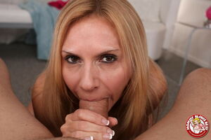mom blowjob pov
