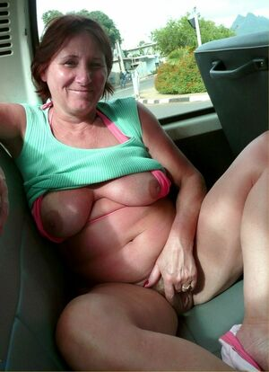 mature redhead wife nude