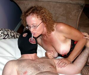 cuming in moms mouth