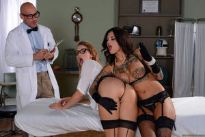 lesbian teacher threesome
