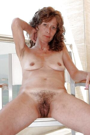 older women with hairy pussy