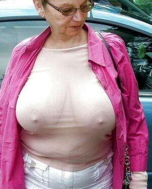 huge granny boobs