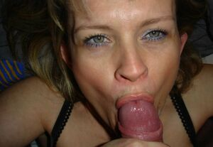 mom giving blowjob