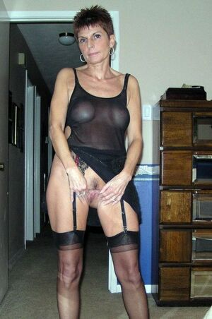 mature women in stockings
