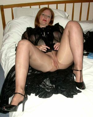 pantyhose matures