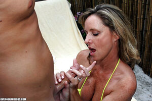 mature handjob blowjob